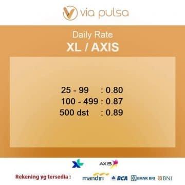 convert pulsa XL
