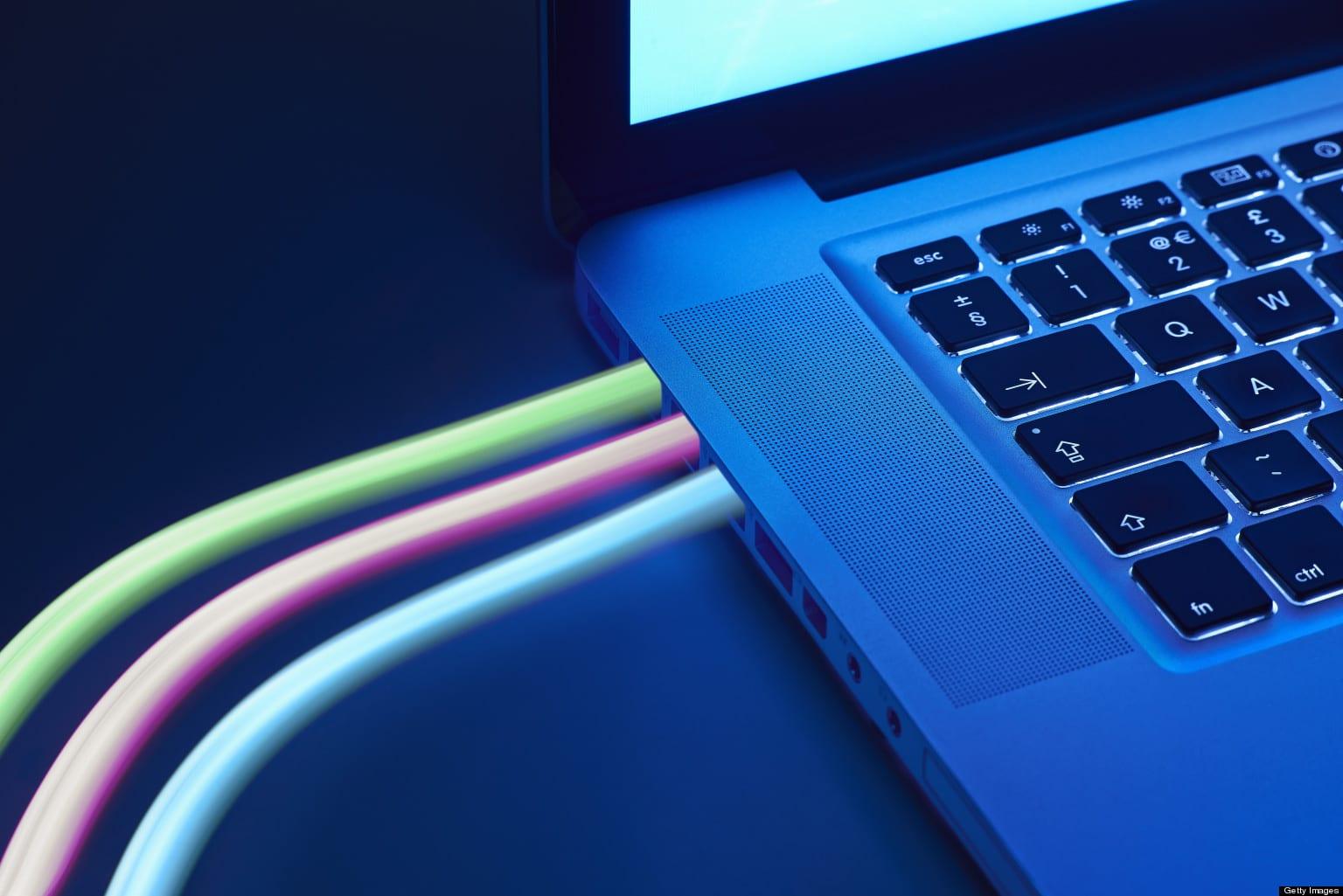 Ilustrasi Kabel Fiber Optik