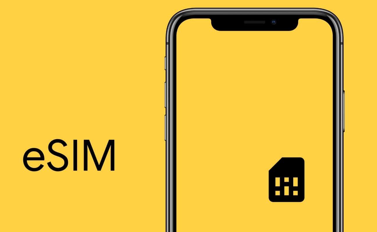 Ilustrasi Electronic SIM