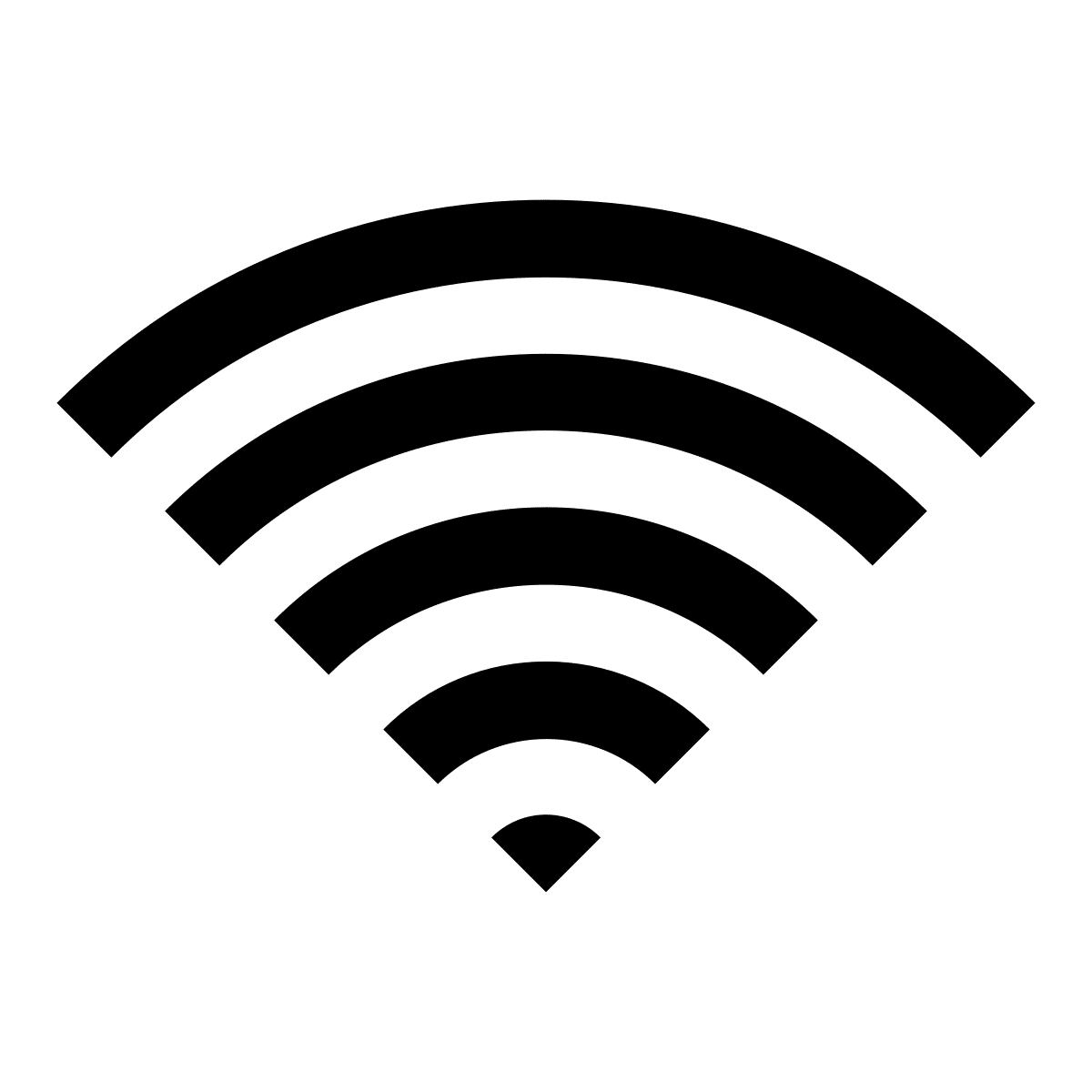 Logo Vector WiFi Transparan