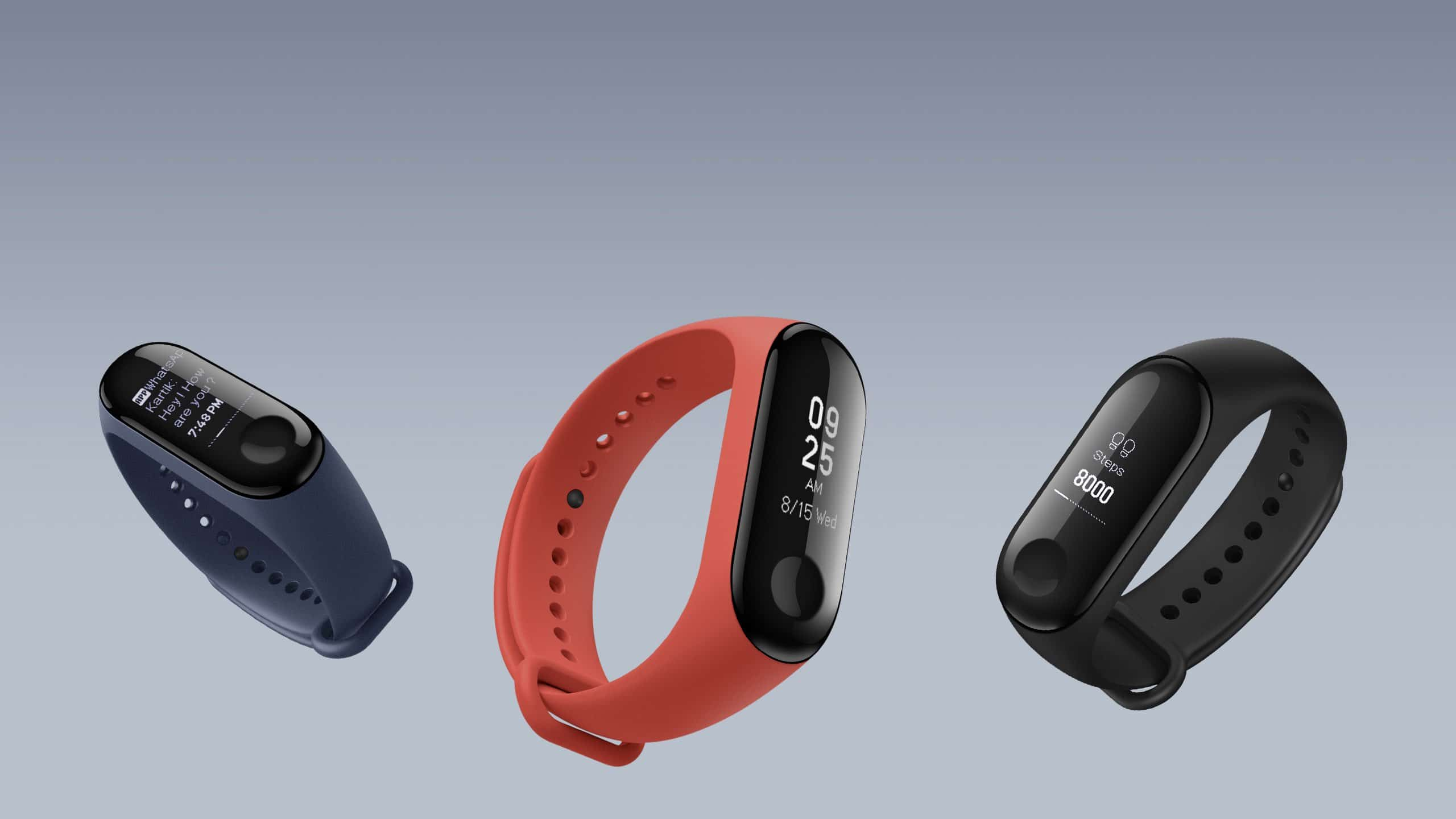 Varian Warna Mi Band 2