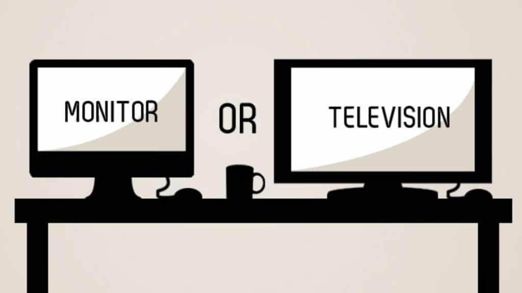Perbandingan Monitor Dengan Televisi