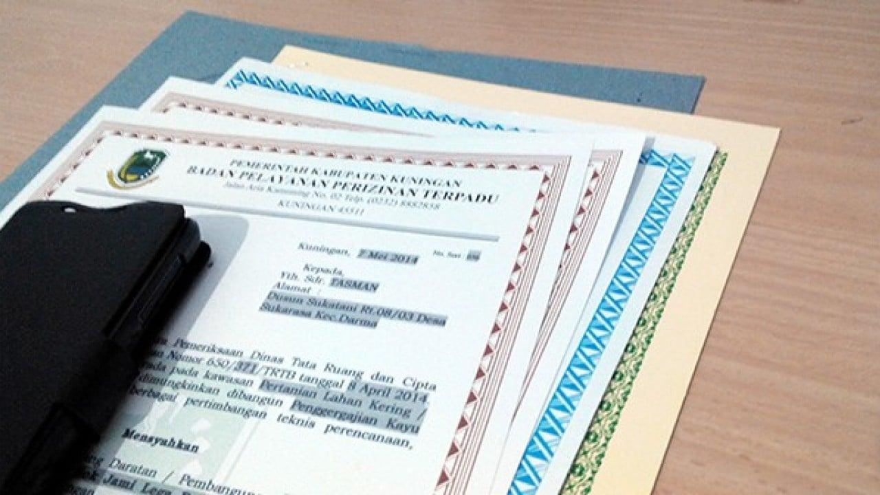 Contoh Surat Perizinan Usaha Perdagangan